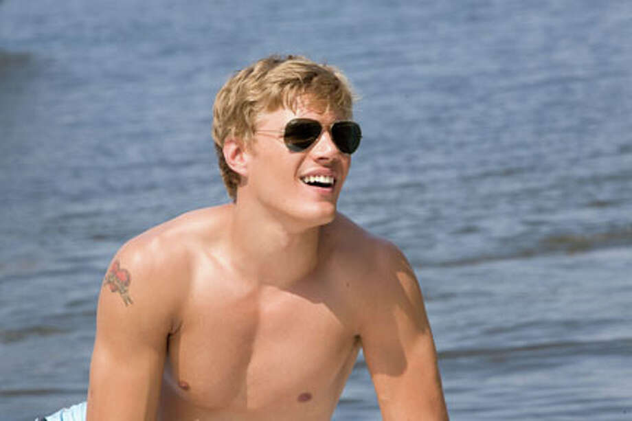 "Chris Zylka as Blake in ""Shark Night."" Photo: Steve Dietl / © 2011 Incentive Film Productions, LLC."