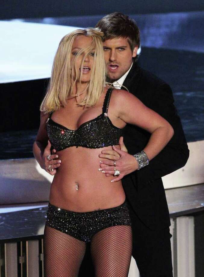 "2007: Britney Spears was hoping to make her comeback performance, but the popstar's rendition of ""Gimme More"" was lackluster and downright embarrassing.  Photo: Kevin Winter, Getty Images / 2007 Getty Images"