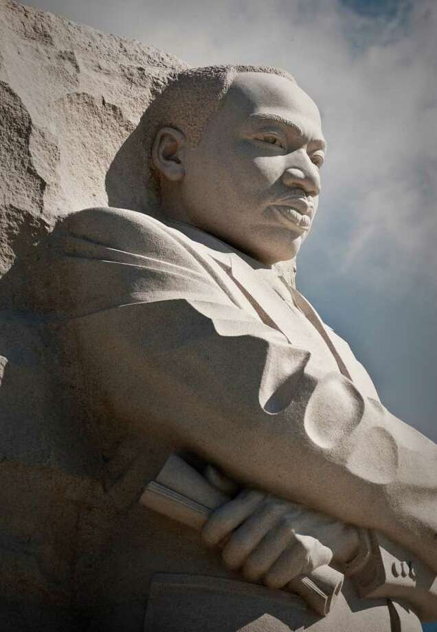 "The dedication of the MLK memorial in Washington was to be held on Sunday, the 48th anniversary of King's ""I Have a Dream"" speech (Andre Chung/MCT) Photo: Andre Chung, McClatchy-Tribune News Service / MCT"
