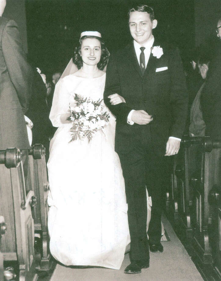 Irene Romaniello and Dave Tyrrell were married April 1, 1961. Photo: Contributed Photo