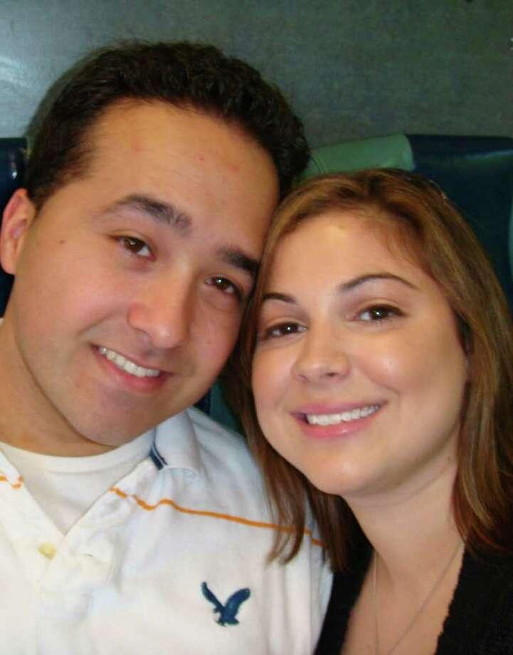 Christina Bosco and Francesco Chieffalo are engaged. Photo: Contributed Photo