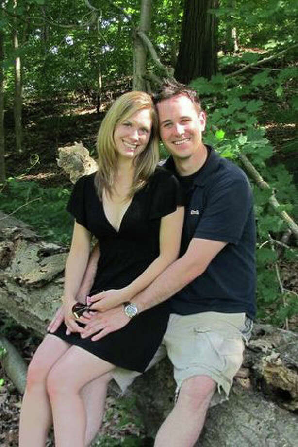 Chelsea Sondern and Michael Weiand are engaged. Photo: Contributed Photo