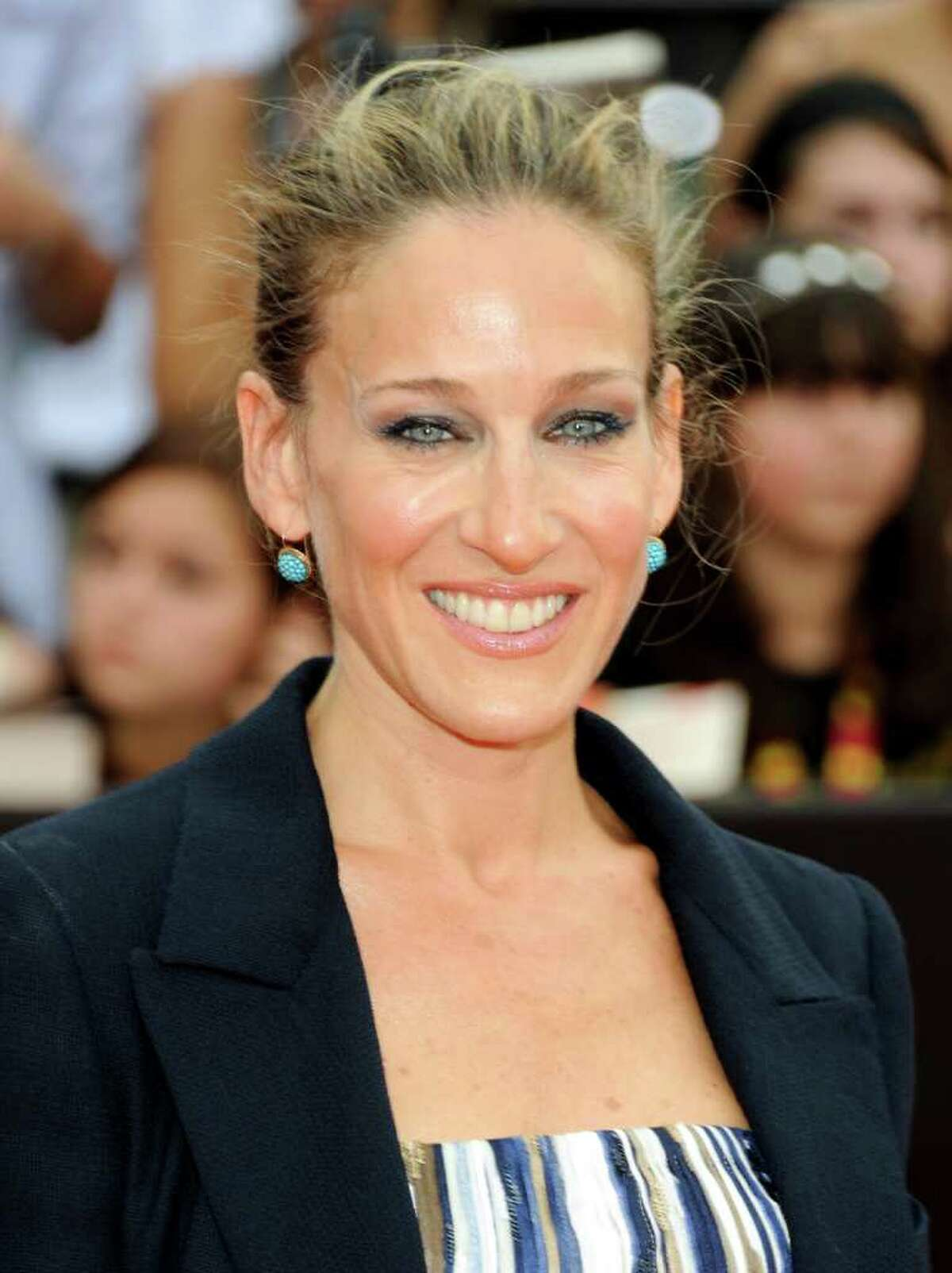 FILE - In this July 11, 2011, file photo, actress Sarah Jessica Parker attends the premiere of