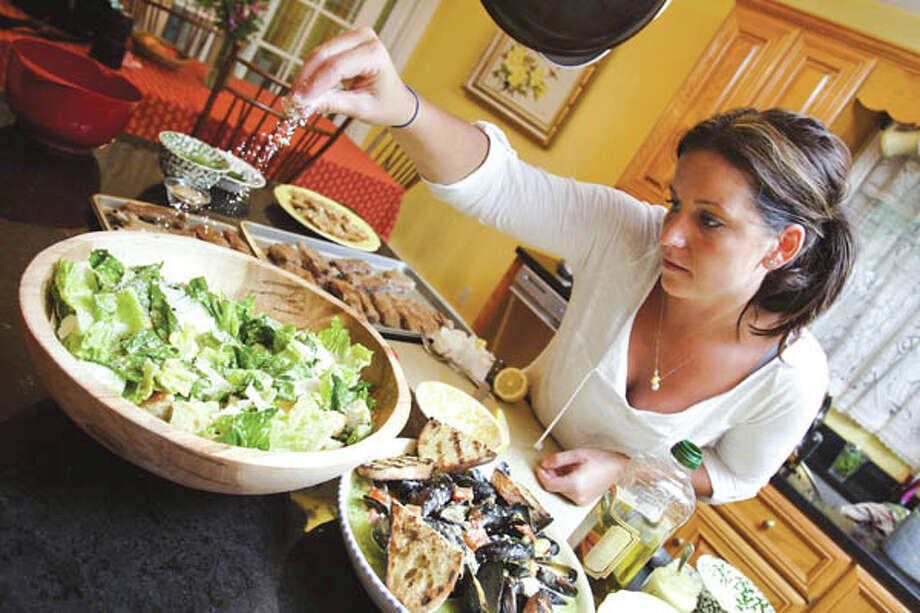 Courtney Withey shares a century-old home with her dad in Alplaus, a tiny hamlet in Schenectady County. At age 27, she became executive chef at Apertivo Bistro, and is the first woman to run a kitchen for Scotia-based Mazzone Hospitality. Read the story  here. Get Courtney's recipes here . (Photo by Suzanne Kawola/Life@Home)