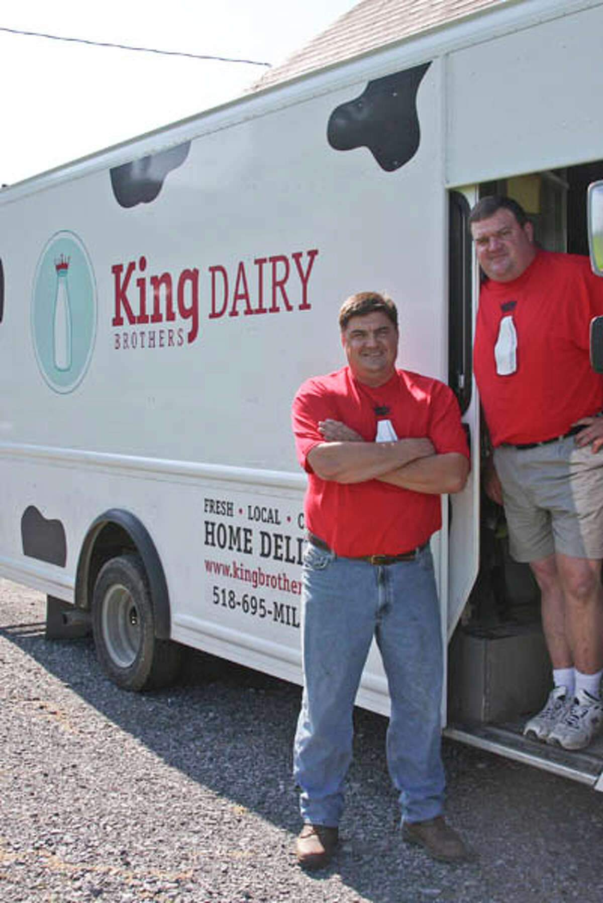 Home delivery of farm-fresh milk may be just a memory from times past for some of us, but it's a weekly delight for customers of King Brothers Dairy in Schuylerville. The 115-year-old family farm is owned by fourth generation brothers Jan and Jeff King. Read the story here, and watch our Inside Look video here. (Photo by Paul Barrett/Life@Home)