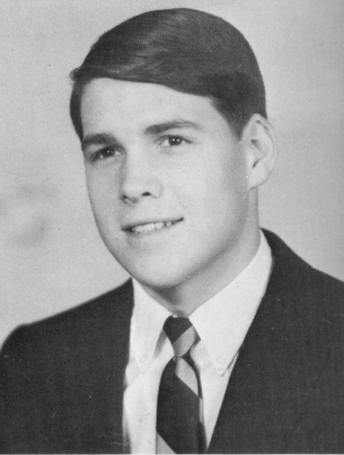 Rick Perry's senior class photo from his 1968 high school yearbook.