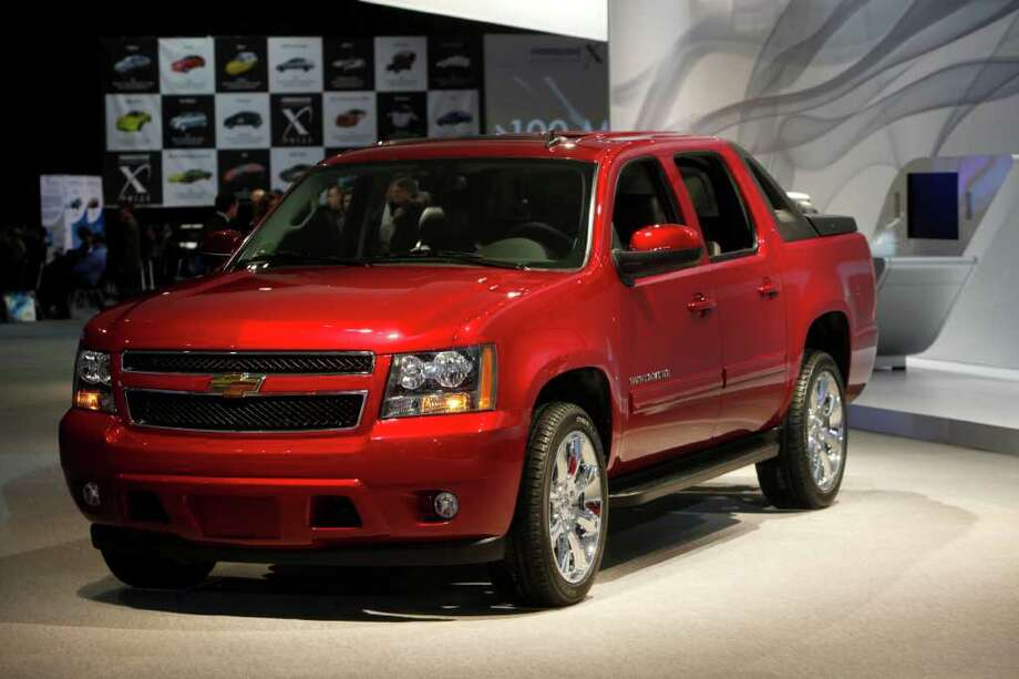 8. Chevrolet Avalanche. Photo: Paul Sancya, STF