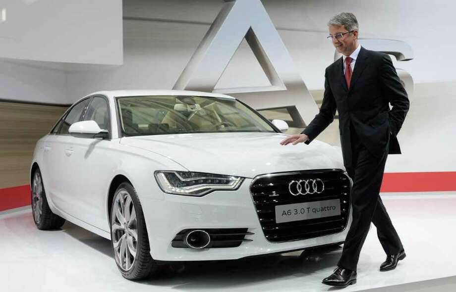 1. Audi A6. Photo: Lennart Preiss / AP2011