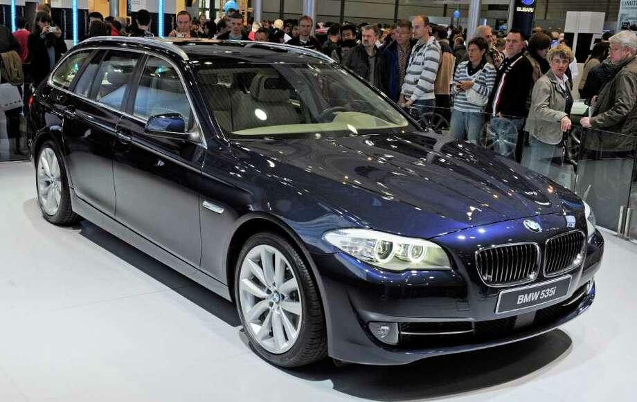 8. BMW 5 Series. Photo: JENS MEYER, STR / AP2010