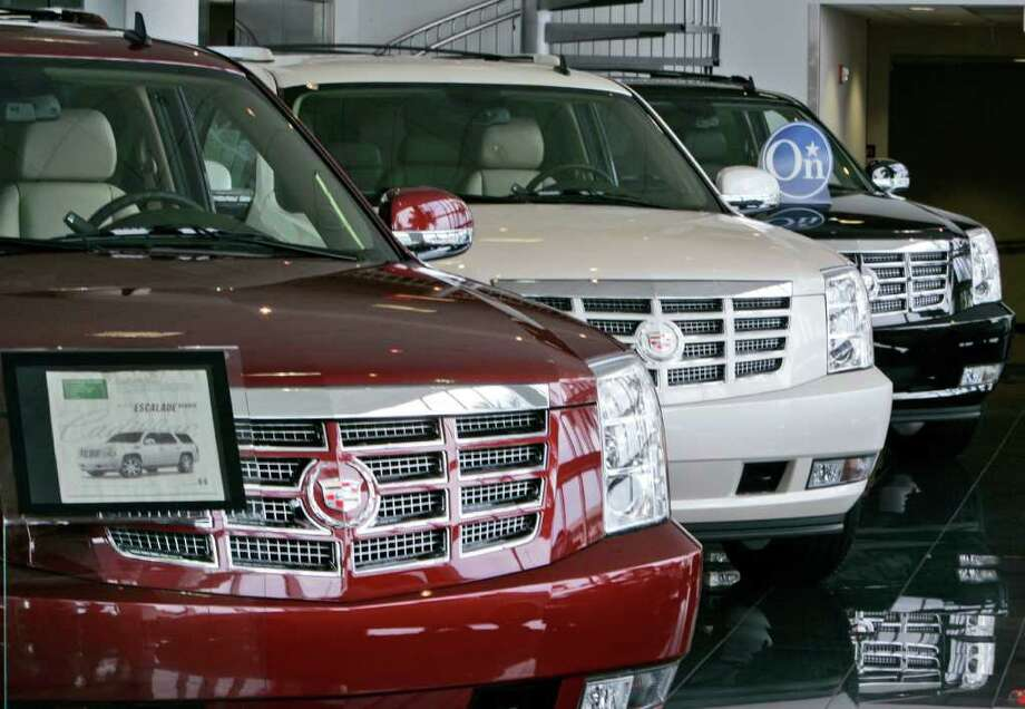 1. Cadillac Escalade. Photo: Wilfredo Lee, STF / AP2009
