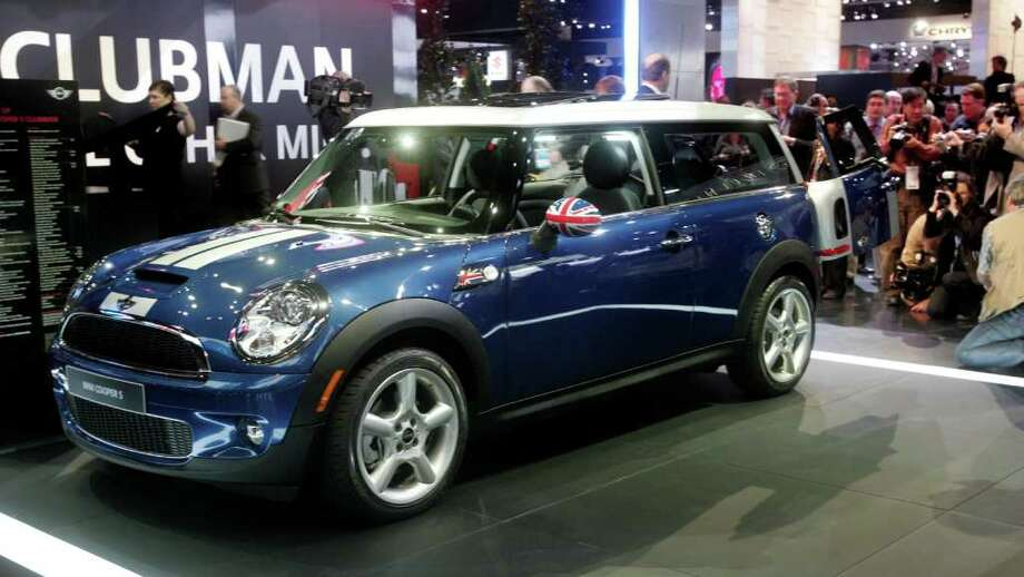 And now, the nine least likely to be targeted by thieves. 9. Mini Cooper S Clubman. Photo: Jerry Mendoza, STR / AP2008