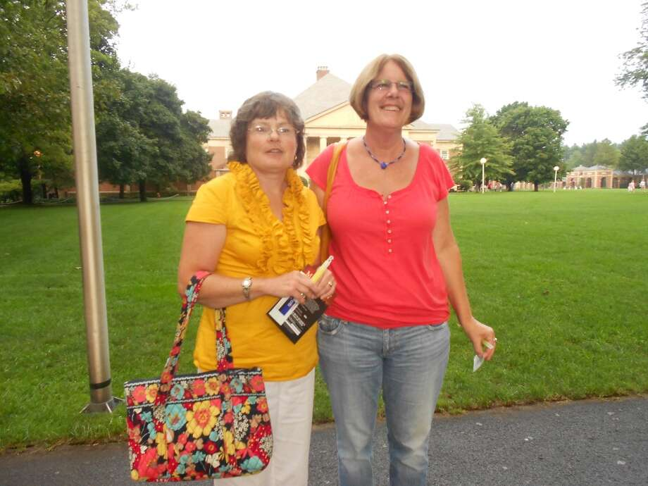 Were you seen at Barry Manilow at SPAC on Thursday, Aug. 25, 2011? Photo: Kevin Fox