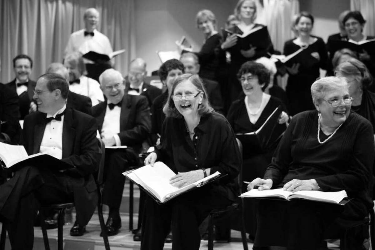The Fairfield County Chorale and St. Thomas Aquinas Church will host a sing-in of the Mozart Requiem on Sunday, Sept. 11, at 7 p.m. at the Fairfield church as part of the 10th anniversary observances of the Sept. 11, 2001, terrorist attacks on the United States. Chorale members are shown here at a recent concert.