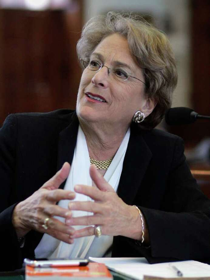 Rep. Ellen Cohen, D-Bellaire, wrote the law that requires  a $5-per-customer tax on strip clubs. The first $25 million in proceeds from the tax would go to programs helping sex assault victims. Photo: Harry Cabluck, STF / AP