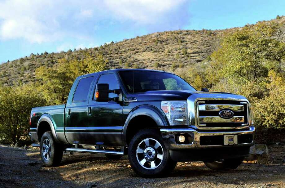 Ford F-250 Crew ModelStarting Price: $36,710Rate of theft: 7 out of every 1,000 insured Photo: Sam,VarnHagen, HO,HO