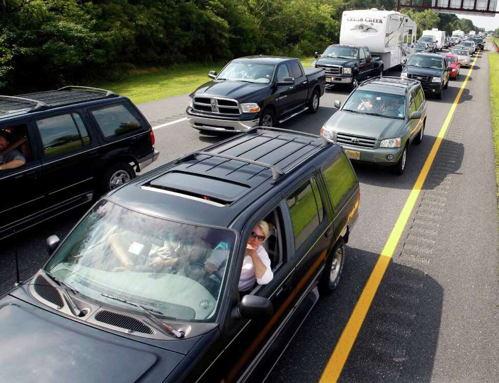 With an average commute time of 32 minutes, New York ties with Maryland for the country's longest drive to work. Click through the slideshow to see the average commute time for the Capital Region's 11 counties, ranked best to worst. Source: U.S. Census Bureau
