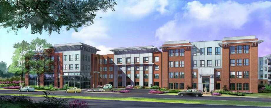 Central Presbyterian Church merged with another congregation, opening up its land, which the Morgan Group bought to build this apartment complex. (Artist rendering by Morgan Group)