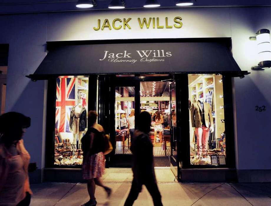 Launch party for the opening of Jack Wills, a British clothier aimed at college kids, 252 Greenwich Ave., Friday night, Aug. 26, 2011. Photo: Bob Luckey / Greenwich Time