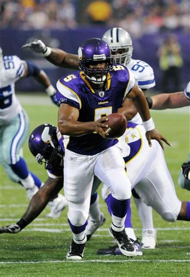 Quarterback Donovan McNabb is 36. Photo: Associated Press