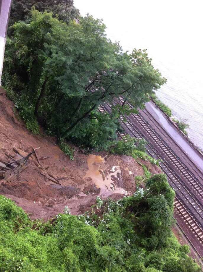The tracks on the N line were flooded at 86th Street in Brooklyn. (Metropolitan Transportation Authority)