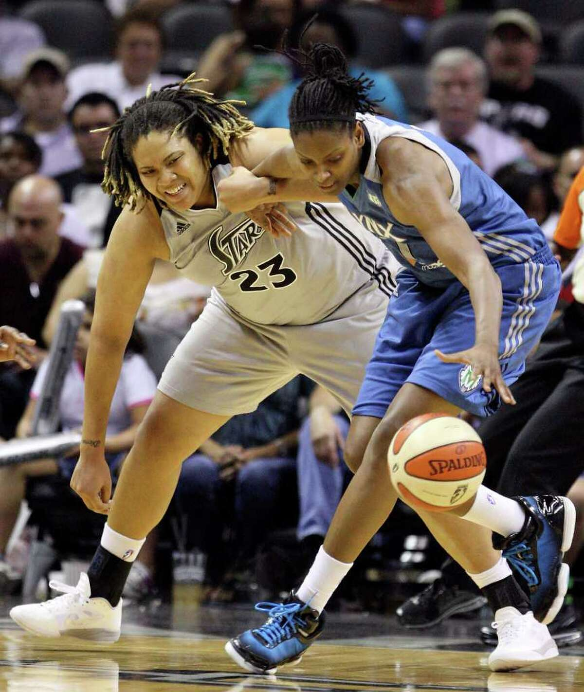 Jessica Adair (right): Currently plays for the Minnesota Lynx of the WNBA.