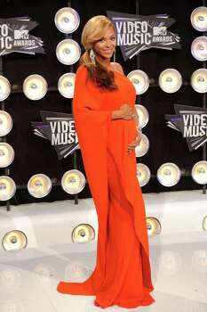 LOS ANGELES, CA - AUGUST 28:  Singer Beyonce arrives at the 2011 MTV Video Music Awards at Nokia Theatre L.A. LIVE on August 28, 2011 in Los Angeles, California. Photo: Jason Merritt, Getty Images / 2011 Getty Images