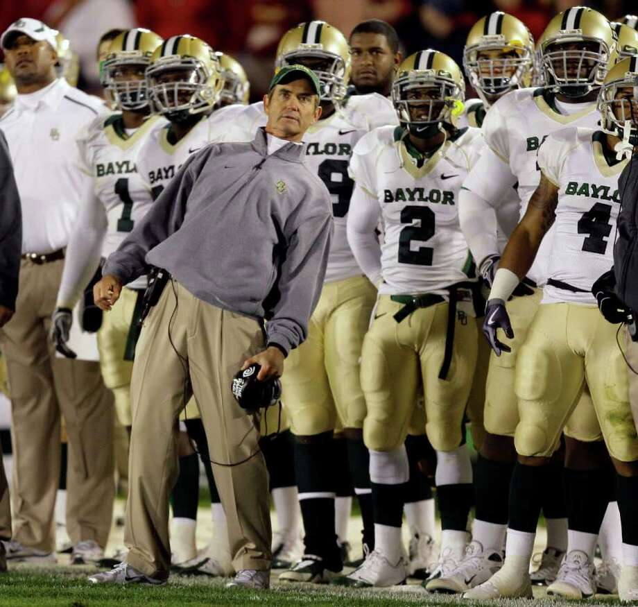 6. Baylor (6-6, 4-5): Between a Heisman campaign and a bowl game to build on, these aren't the old Bears. Photo: Charlie Neibergall, AP / AP