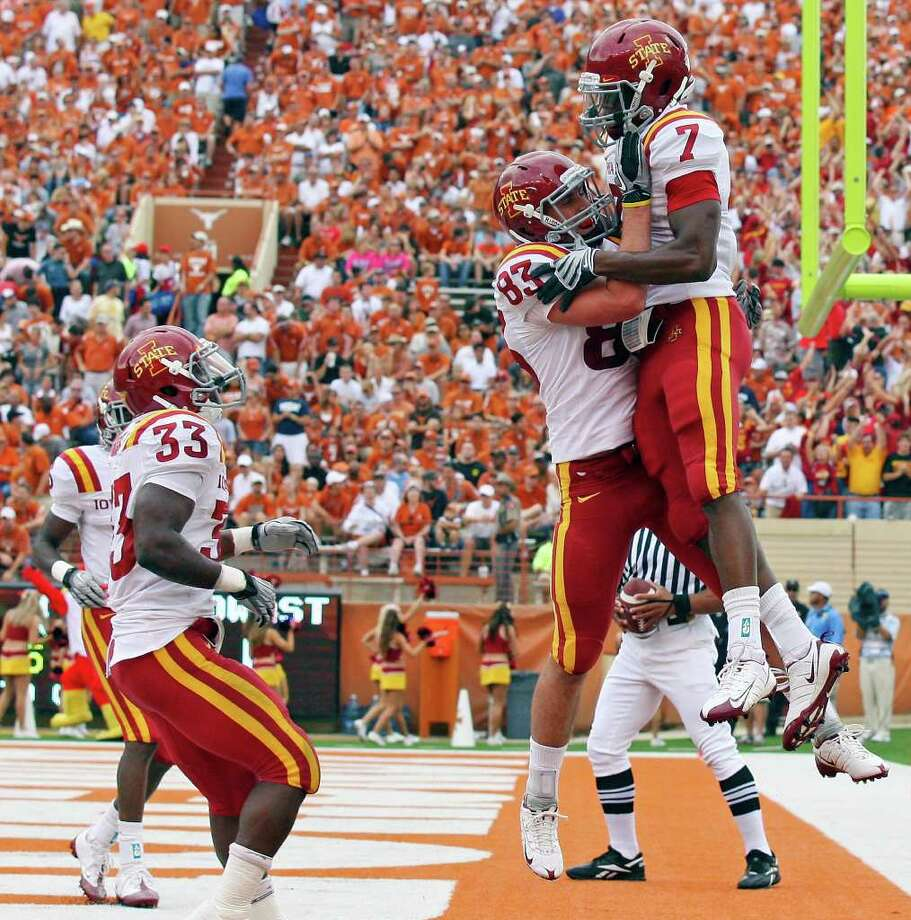 8. Iowa State (4-8, 2-7): The Cyclones don't overwhelm with talent, but few teams are better prepared. Photo: EDWARD A. ORNELAS, San Antonio Express-News / San Antonio Express-News