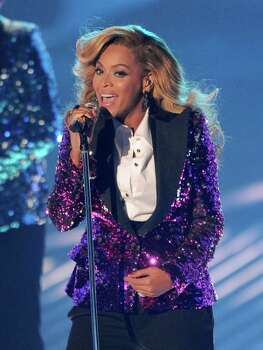 LOS ANGELES, CA - AUGUST 28:  Singer Beyonce Knowles performs onstage during the 2011 MTV Video Music Awards at Nokia Theatre L.A. LIVE on August 28, 2011 in Los Angeles, California. Photo: Kevin Winter, Getty / 2011 Getty Images