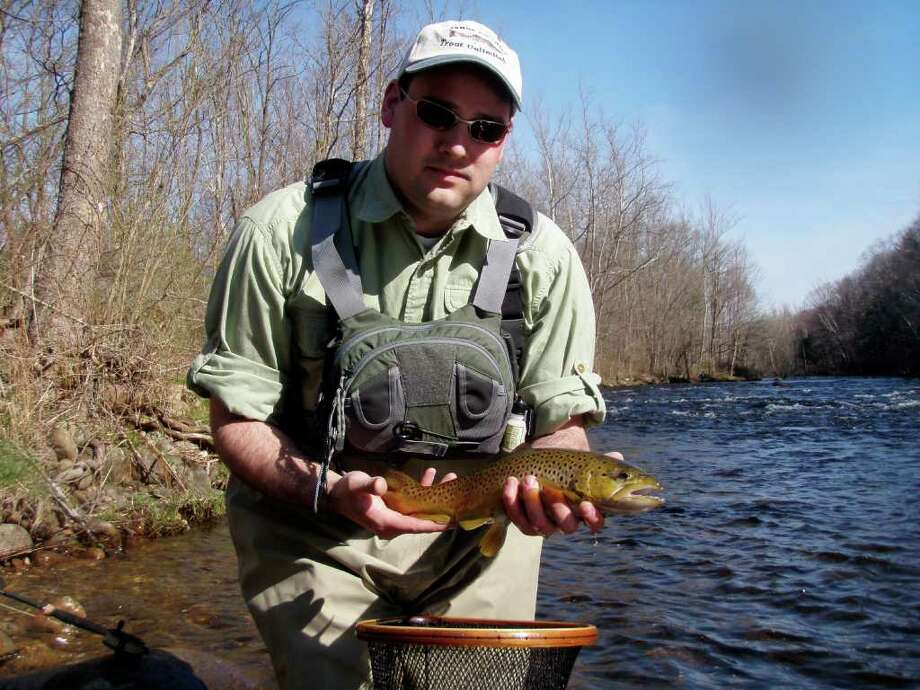 Jeff Yates will share the best of Fairfield County trout fishing in a discussion on Sept. 13. Photo: Contributed Photo