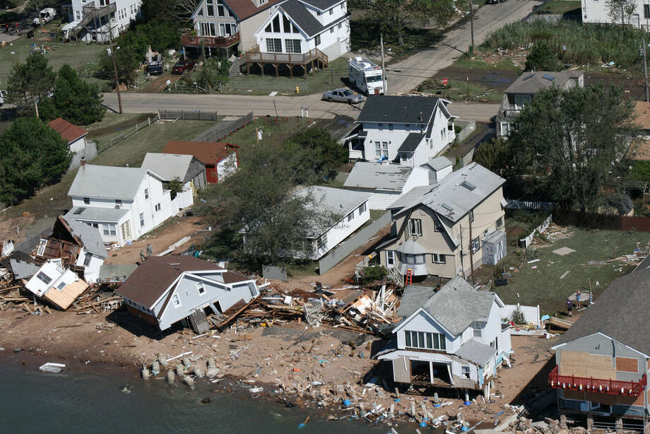 Monday, August 29, 2011 -- The Connecticut National Guard took Governor Dannel P. Malloy on a helicopter flight across the State of Connecticut the day after Hurricane Irene struck to provide the Governor with an aerial survey of the storm's damage across the state. Photo: Connecticut National Guard / Connecticut Post Contributed