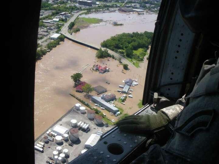 The Freemans Bridge region between Schenectady and Glenville on Aug. 29, 2011. (Jimmy Vielkind/Times