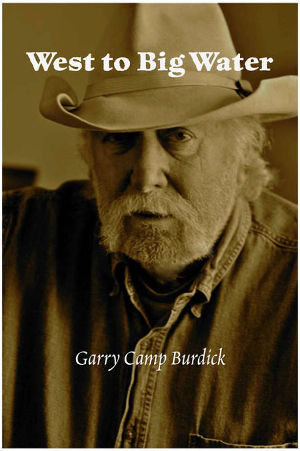 "Southbury photographer Garry Camp Burdick, 78, is shown here on the cover of his first book, ""West to High Water."" Burdick, whose  pictures of  Norman Rockwell are in the Smithsonianís permanent collection, has now turned his creative juices toward writing. Photo: Contributed Photo"
