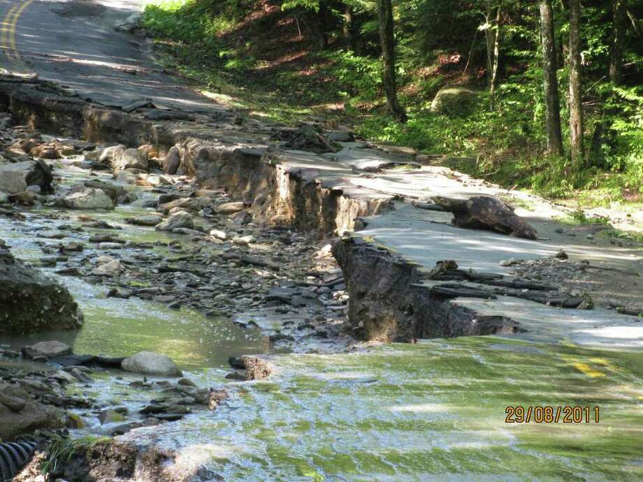 Petersburgh - Dill Brook Road. Photo: Janet Spitz