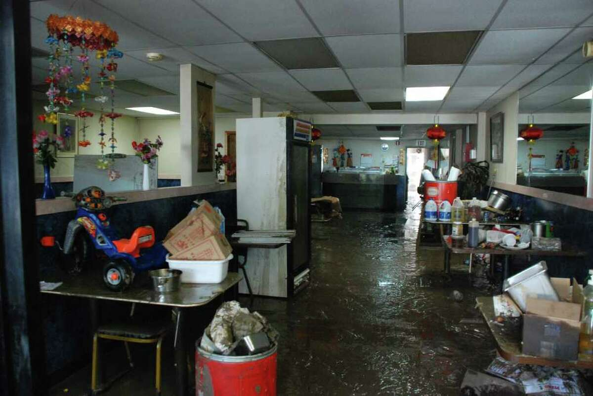 The aftermath of Hurricane Irene in Schoharie, N.Y. (Yi-Ke Peng / Times Union)