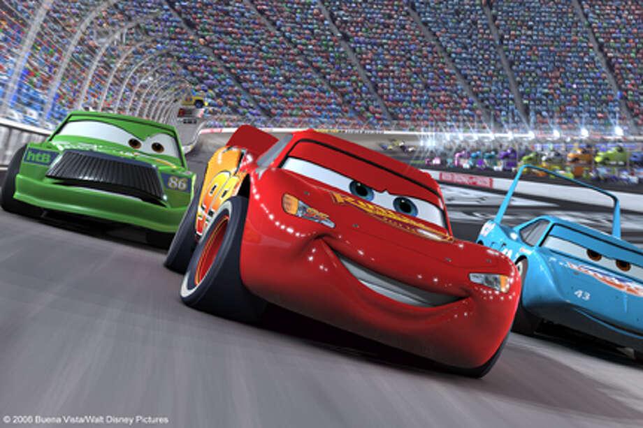 """A scene from the movie """"Cars."""" Photo: Leeann"""