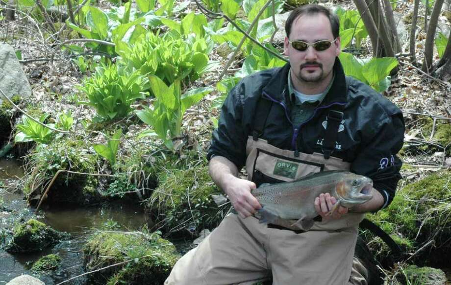 Jeff Yates of Wilton, board member of the Mianus Chapter of Trout Unlimited, will share the best of Fairfield County trout fishing on Tuesday, Sept. 13 at Waveny Mansion in New Canaan. The meeting is free and open to the public. Photo: Contributed Photo
