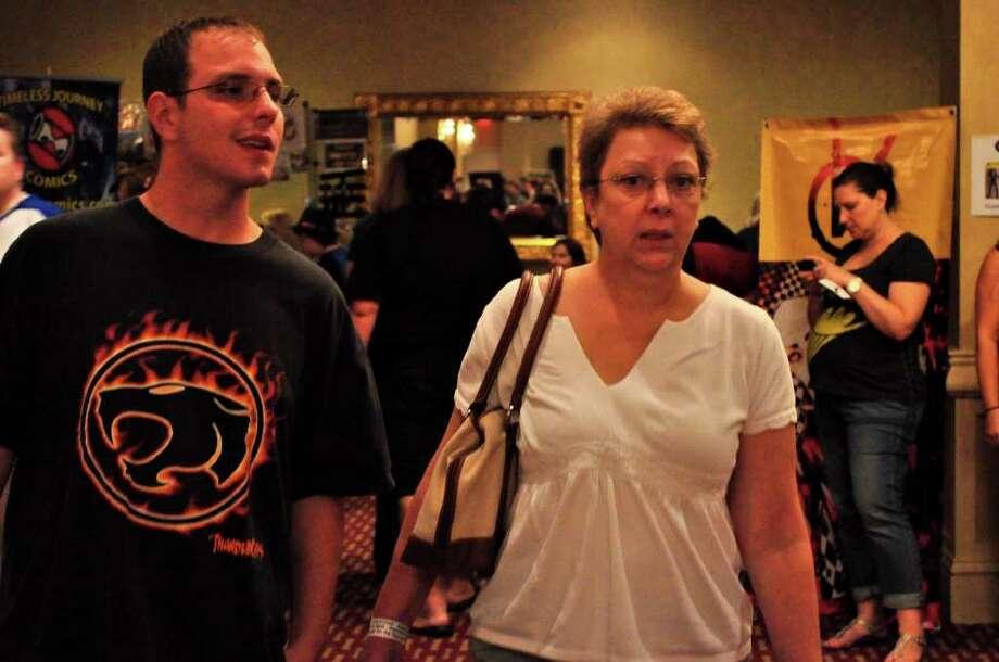 Comic CONN, 27/08/11 Photo: Tebben Gill Lopez / Hearst Connecticut Media Group