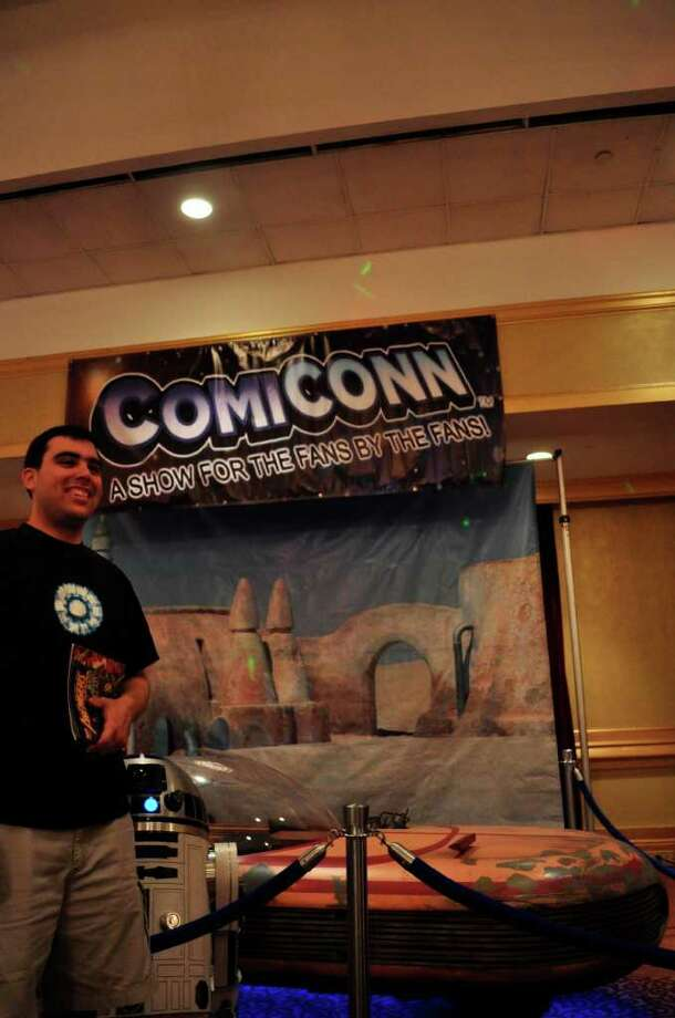 Comic CONN, 27/08/11 Photo: Tebben Gill Lopez / Hearst Connecticut Media Group