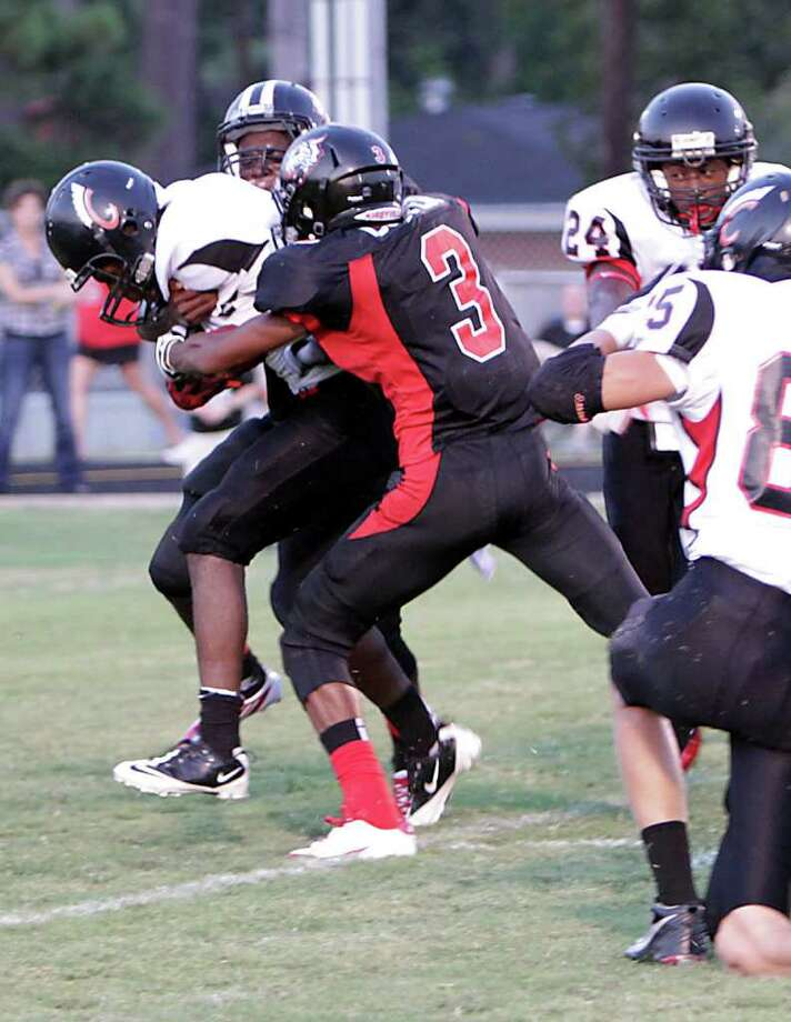Kirbyville falls to Coldspring in season opener. Photo: Charles Kerr