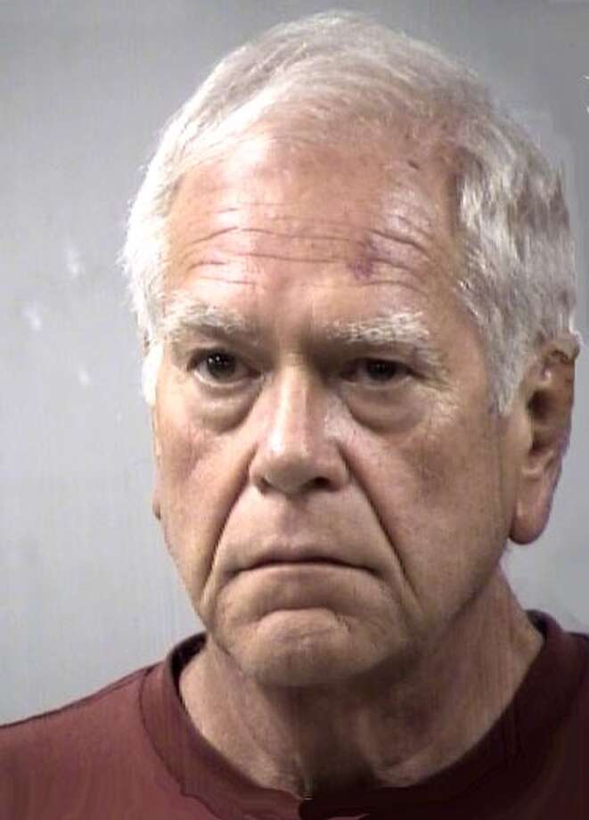 Retired Pleasanton Independent School District principal Kenneth Elton Whiteker,  63, was arrested after allegedly exposing himself to an undercover San Antonio  police officer at Olmos Basin Park on Monday. Photo: Courtesy Photo