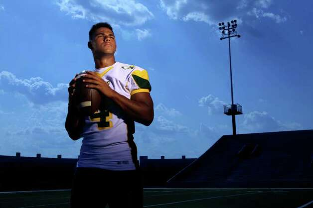 Quarterback Matt Davis of Klein Forest High School is featured in the High School Football Preview. Davis photographed at Delmar Stadium on Monday, Aug. 1, 2011, in Houston.  ( Mayra Beltran / Chronicle ) Photo: Mayra Beltran, Staff / © 2011 Houston Chronicle