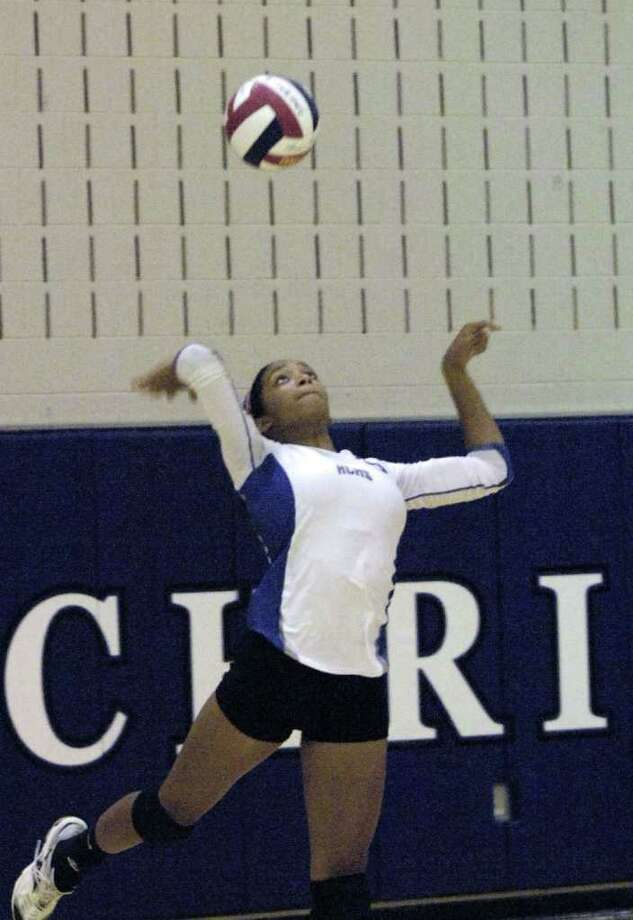 Volleyball Mustangs Take Aim At Top Spot Houston Chronicle