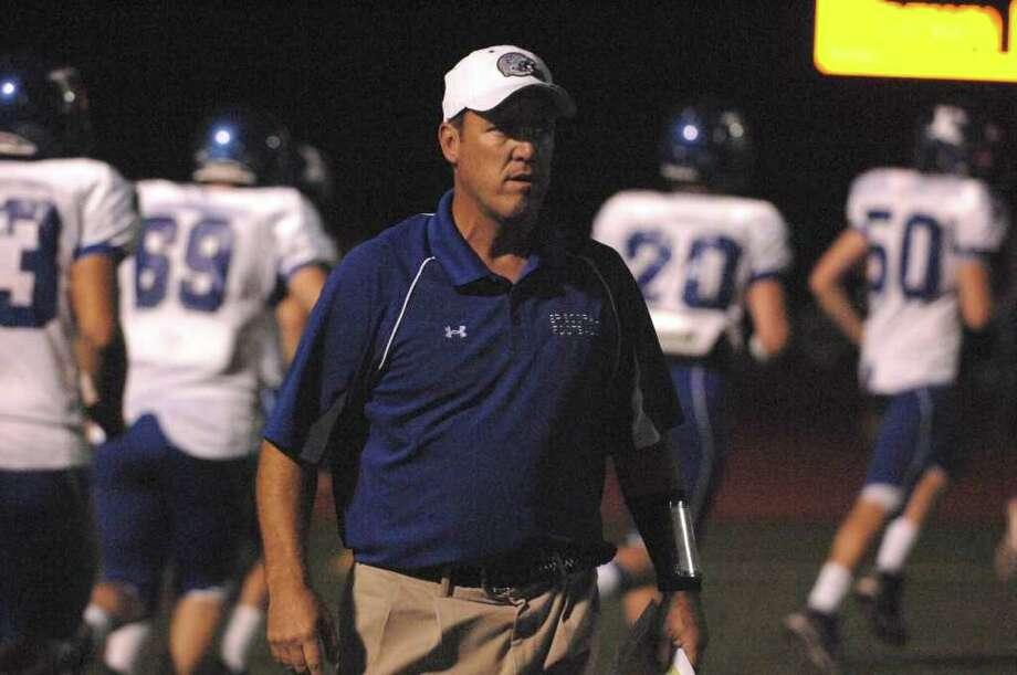 Episcopal Head Football Coach Steve Leisz. Photo: Jerry Powers, Freelance / Freelance
