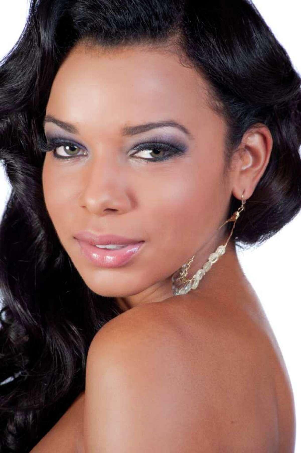 Miss U.S. Virgin Islands 2011, Alexandrya Evans.
