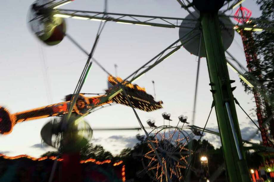 As a kid you relied on the St. Leo's Fair to tell you summer was over. Photo: Keelin Daly / Stamford Advocate