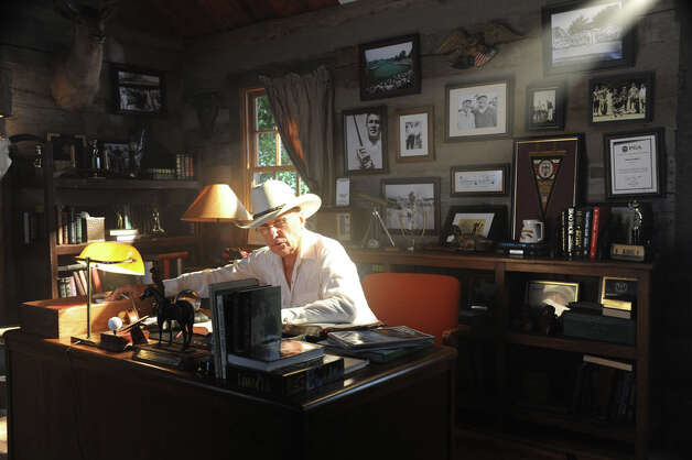 "Actor Robert Duvall stars in the new golf movie ""Seven Days in Utopia,"" which opens nationwide Friday. Photo: Courtesy Photo"