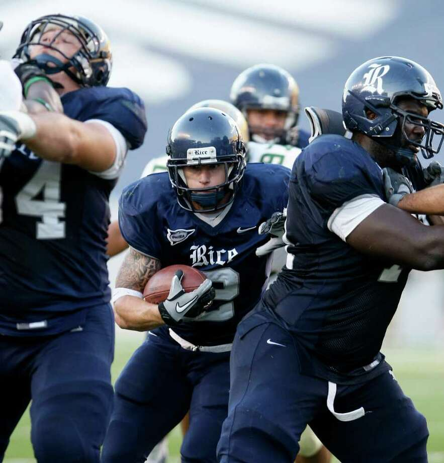 4. Rice (5-7, 4-4): The Owls have the talent and experience to make a bowl run, but the tough schedule doesn't agree. Photo: Nick De La Torre, Houston Chronicle / Houston Chronicle