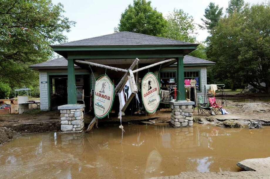 The Mountaineer Outlet Store, owned by Vinny McClelland, on Tuesday, Aug. 30, 2011, in Keene Valley, N.Y. (Cindy Schultz / Times Union) Photo: Cindy Schultz