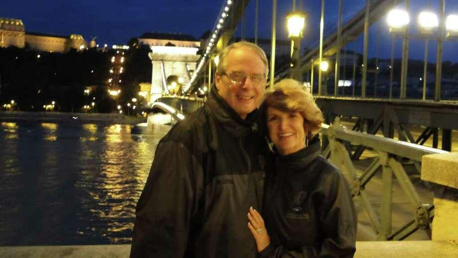 COURTESY SARA EGGLESTON RETIRED COUPLE: Frank and Sara Eggleston both are retired and spend their time traveling and taking care of grandchildren.